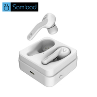 Samload Wireless Bluetooth Earphone Sports Headphones 3D Stereo Hands Free Mini Bluetooth Headset With Power Bank