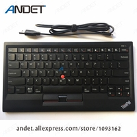 New Original Lenovo ThinkPad Bluetooth Keyboard Support Window Android IOS Multi Connect with Trackpoint US English 4X30K12182