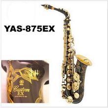 New High Quality Saxophone Alto Sax YAS 875 EX Musical Instruments Professional E-flat Sax Black Saxofone Alto Saxophone