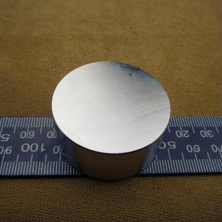 1PCS 40mm x 20mm 40x20   Round Cylinder Neodymium Permanent Magnets 40*20 NEW Art Craft Connection 2 pcs new 44mm cylinder