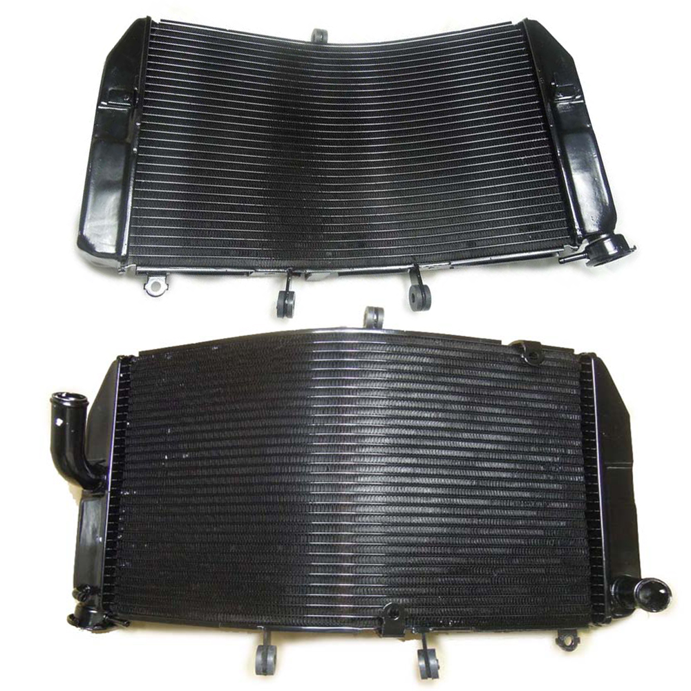 цены  Motorcycle Accessories Radiator Aluminum Radiator Cooler Cooling Kit For Honda CBR600RR CBR600 RR CBR 600 RR 2003 2004 2005 2006