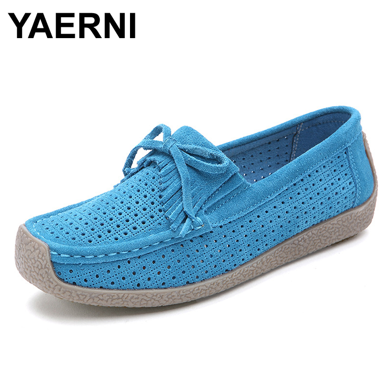 YAERNI Women's Flats Snail Shoes Soft Loafers Slip-on Breathable Flats Spring Pregnant Hollow out Casual Flat Heel Doug Shoes  spring shoes women flat heel round toe casual comfort flats pregnant loafers slip resistance low heels all match
