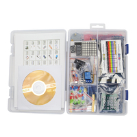 DIY Learning Starter kit LCD 1602 + Sensors + Resistance + Breadboard + Learning CD for UNO R3 for Raspberry Pi 3 / 3B+
