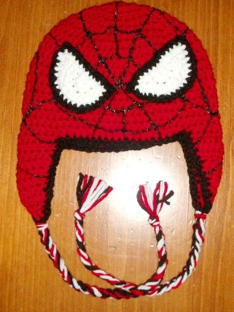 Freies verschiffen, kinder Spiderman Hut, Häkeln Spider Man Hut ...