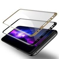 10 stücke Gesamt Coverd Glas Für Samsung Galaxy S6 S7 S8 Rand Plus A3 A5 A7 2017 3D Curved Ausgeglichenes Glas-schirm-schutz Film