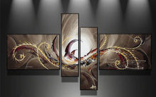 Classical Handmade Modern Wall Art Set Abstract Huge Oil Painting On Canvas
