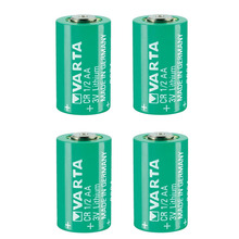 Lot 4pcs Original Brand New Varta CR 1/2AA 3V CR14250 3V CR1/2AA CR 1/2 AA PLC Lithium Battery цена
