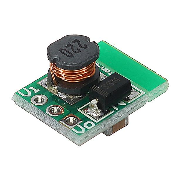 1Pc 1.5V 1.8V 2.5V 3V 3.7V 4.2V 5V TO 3.3V DC-DC Step-Up Power Module Voltage Boost Converter Board