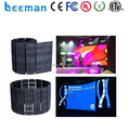 Leeman p37.5 flexible led curtain display, led flexible curtain/ soft xxx videos alibaba cn