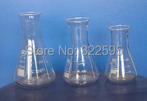 1000ml/2000ml/3000ml/5000ml glass erlenmeyer flask conical flask bottle 500ml ptfe erlenmeyer flask teflon conical bottle chemical labware
