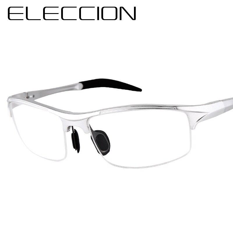 c9f275e10009 ELECCION Brand Prescription Men Glasses Frame Aluminium Magnesium Alloy  Frame Spectacle Eyeglasses Myopia Glasses sports goggles-in Eyewear Frames  from ...