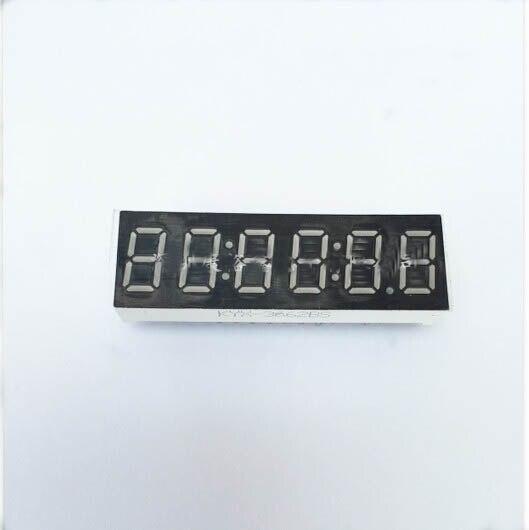 Бесплатная доставка общий катод/общий анод 0.36 дюймов цифровые часы трубки 6 бит Цифровой LED дисплей 0.36 дюйма красный цифровой трубки