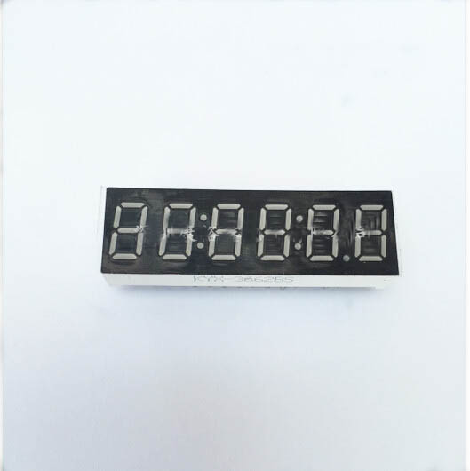 Common Cathode/Common Anode 0.36 Inch Digital Tube Clock 6 Bits Digital Tube Led Display 0.36inches Red Digital Tube