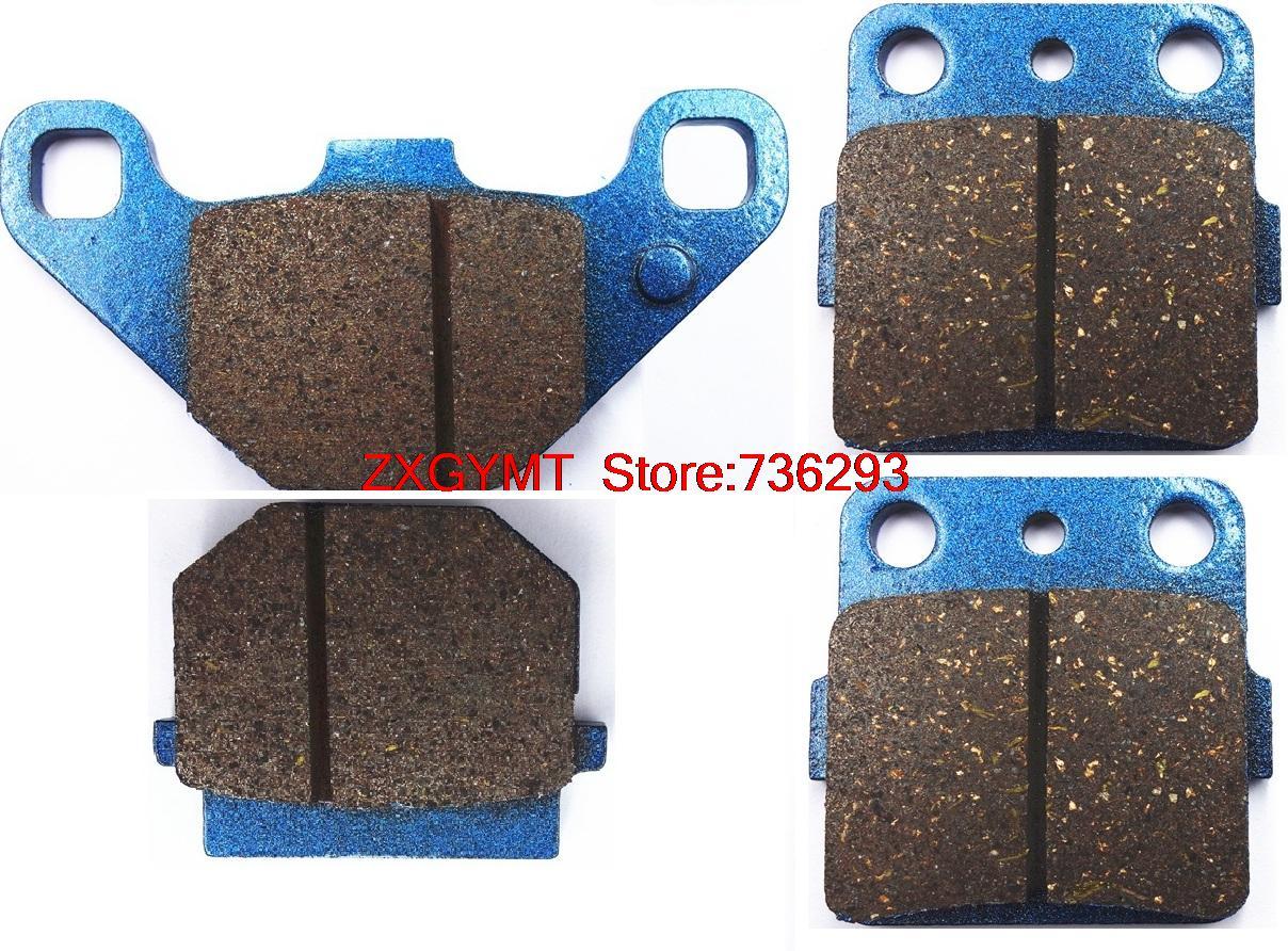 Hors-route Semi Rencontré plaquettes de frein à disque Set fit KAWASAKI KX80 KX 80 L, N, R-R6 1988-1996