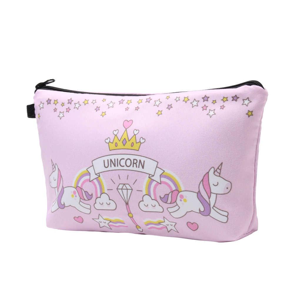 Deanfun розовая сумка на шнурке набор 3D печатных Единорог девочек школьный органайзер для подростков 014