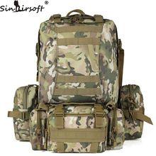 50L Molle haushälterin Taktik Rucksack hik Wasserdicht 600D kapazität Angriff Reise Military Rucksäcke Rucksäcke Armee Tasche