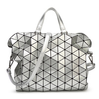 NWT Bao Bao Women Pearl Bag Laser Sac Bags Diamond Lattice Tote Geometry Quilted Shoulder Bag