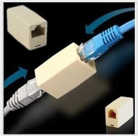 new 10 x RJ-45 SOCKET RJ45 Splitter Connector CAT5 CAT6 LAN Ethernet Splitter Adapter Network Modular Plug For PC Lan Cable 10pcs two way rj45 splitter connector cat5 cat6 lan ethernet splitter adapter rj45 network modular plug for pc laptop hy205