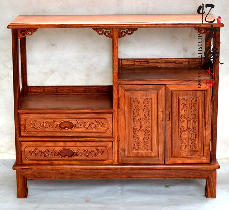 Mahogany furniture of Chinese wood kitchen cabinet rosewood tea cabinet cabinet cupboard multifunctional cabinet cabinet jackson x series dinky arch top dkaf7 ms dark rosewood stained mahogany
