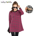 3 Color Polka Dot Breastfeeding Clothes for Pregnant Women Winter Spring Nursing Dresses Maternity Clothing for Nursing L XXL