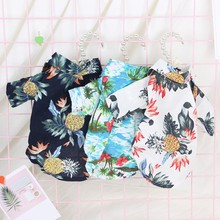 Summer Dog Beach Shirt Print Breathable Pet clothes/Dog Vests for Small/Medium/Large Dogs Products XS-XXL