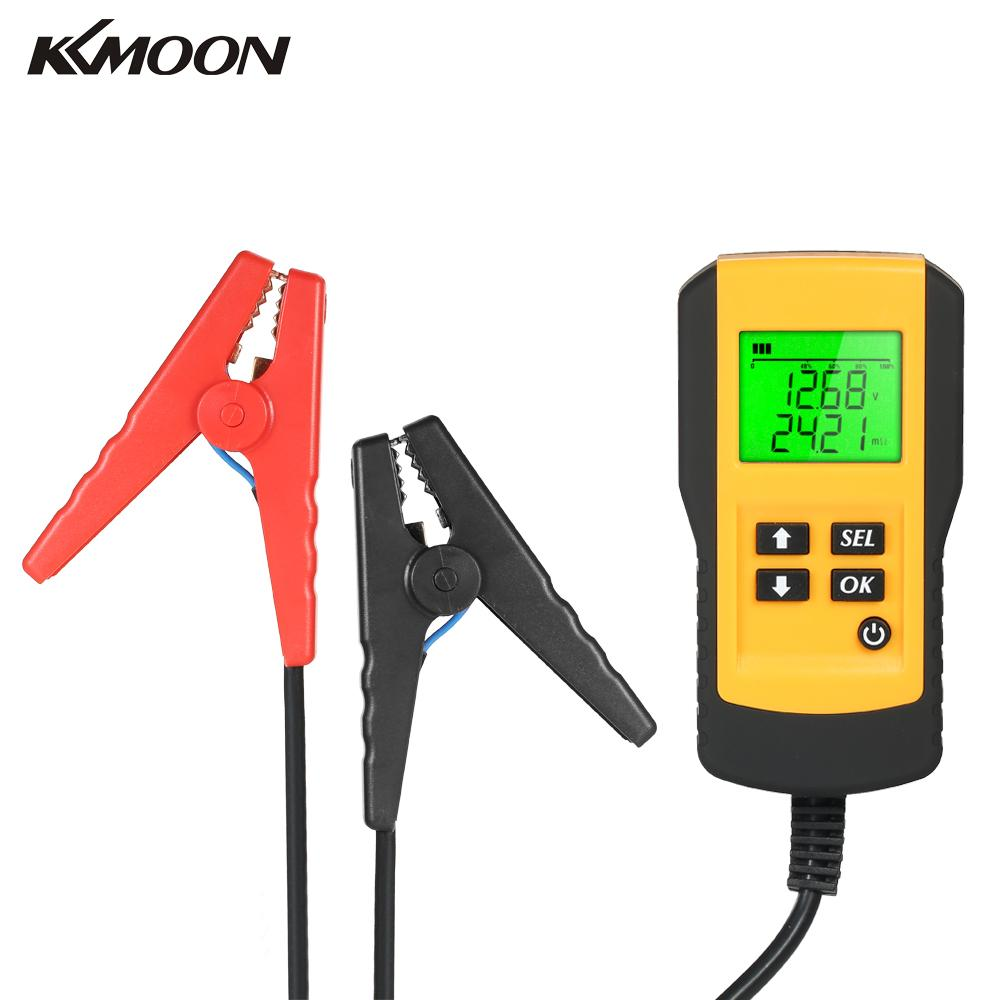 KKmoon 12V LCD Digital Car Battery Analyzer Automotive Vehicle Battery Diagnostic Tester Tool