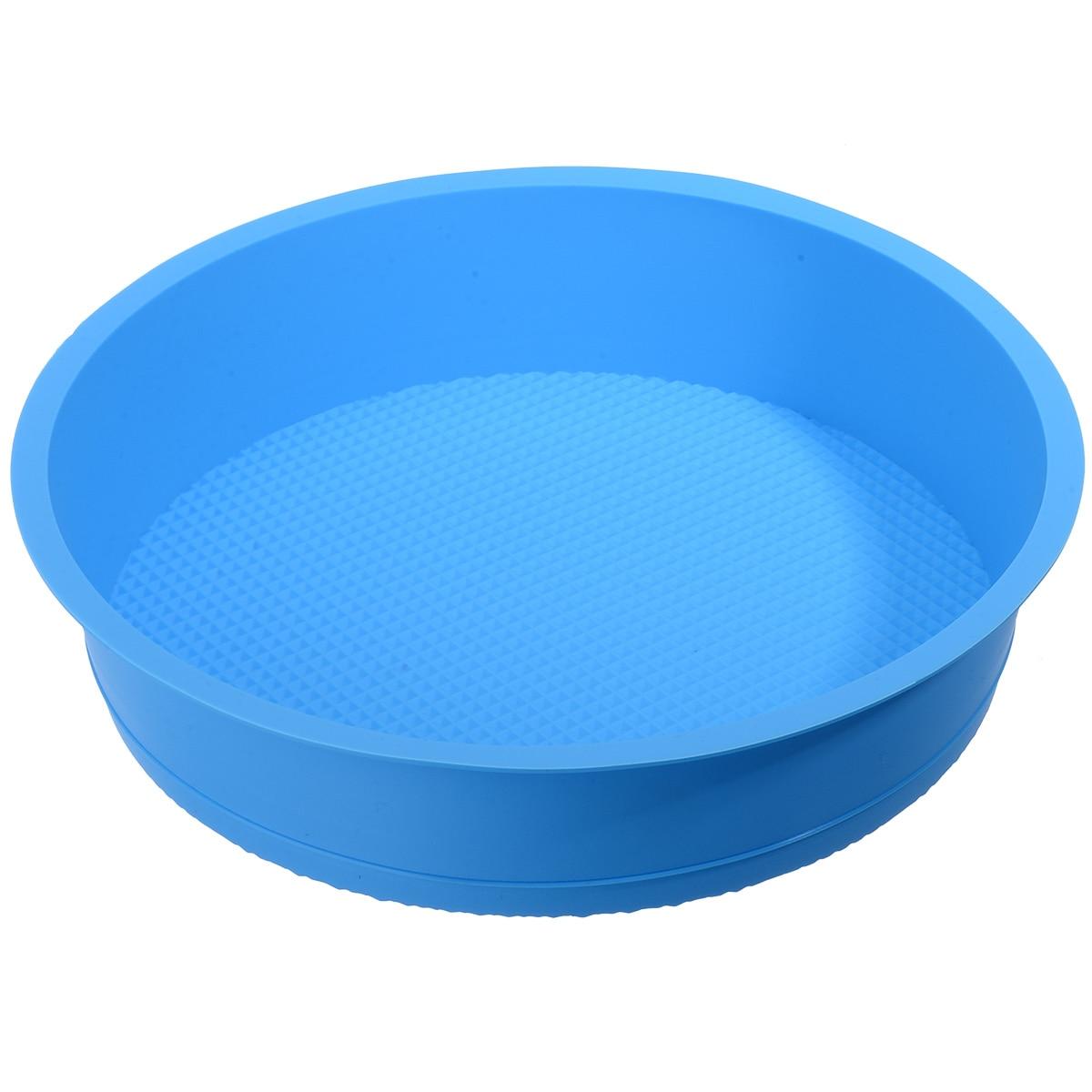 1件3D硅胶蛋糕模具盘巧克力Chese制作模具圆形面包糕点模具烘焙糕点工具烹饪工具床制作工具