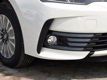 fog lamp light kit for toyota Corolla Ascent Sedan review 2017-