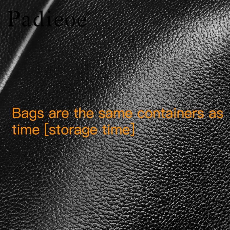 2017 Men Bag Padieoe  Design Men's Briefcase Genuine Leather 14