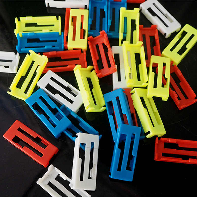 200pcs/lot Servo Extension Cable Clip ESC Y Cable Lines Wire Safety Buckle Fastenner Jointer Stable Card Seat For Rc Servo