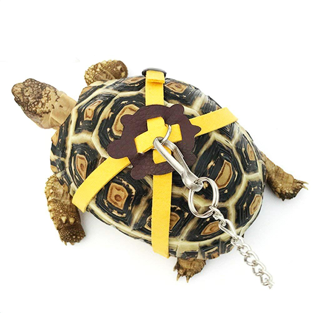 Pet Training Leash Gerbil Cage Cotton Rope Harness Collar Hamster Turtle Lizard Traction Rope Small Pet Supplies Random Color