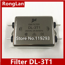 [ZOB] Jianli EMI сетевой фильтр DL-3T1- 10 шт./лот