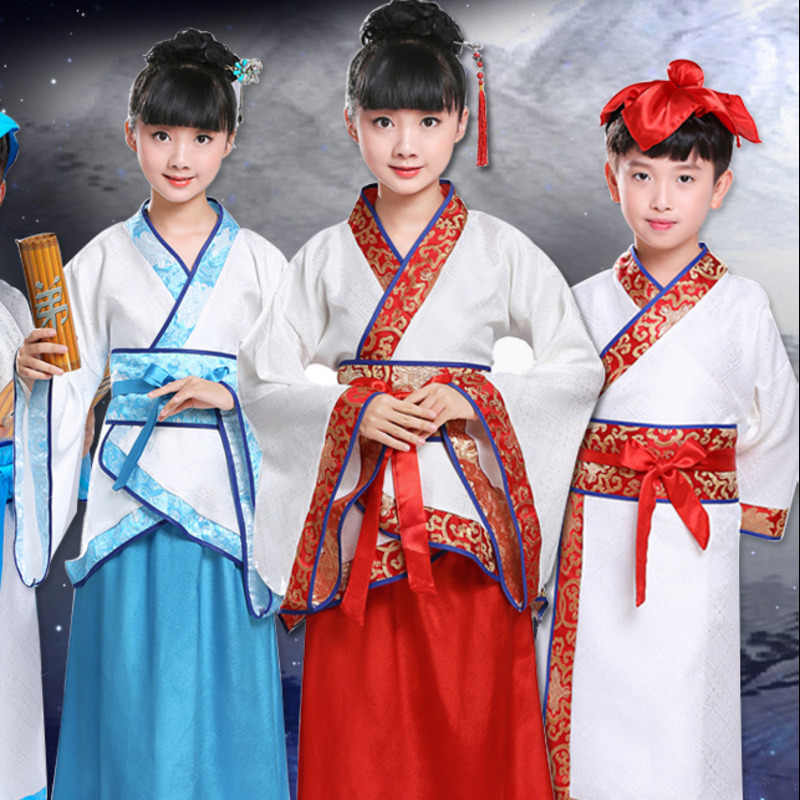 f0be9b3eb traditional chinese dance costumes for boy ming opera children Ancient  Fairy han tang dynasty qing hanfu