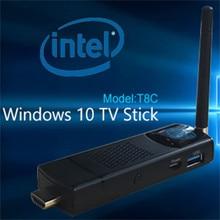 Measy T8C Quad Core Windows 10 TV BOX TV Stick Интернет X Z8300 (64bit) ПРОЦЕССОР 4 Г Ram 64 Г Rom Bluetooth 4.0 WI-FI Антенна Smart TV