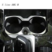 Стайлинга автомобилей интерьера Нержавеющаясталь наклейки обложки держатель стакана воды Панель украшение Накладка для BMW X3 G01 2018 авто аксессуары