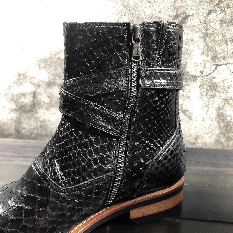 Natural Color Caymen Alligator Skin Cowboy Boots