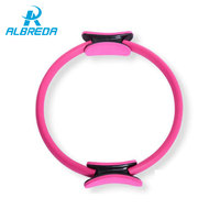 ALBREDA Yoga Ring Pilates Magic Fitness Circle Yoga Wheel Accessories Home Weight Lose Fitness Equipment Sports Aerobics Circle