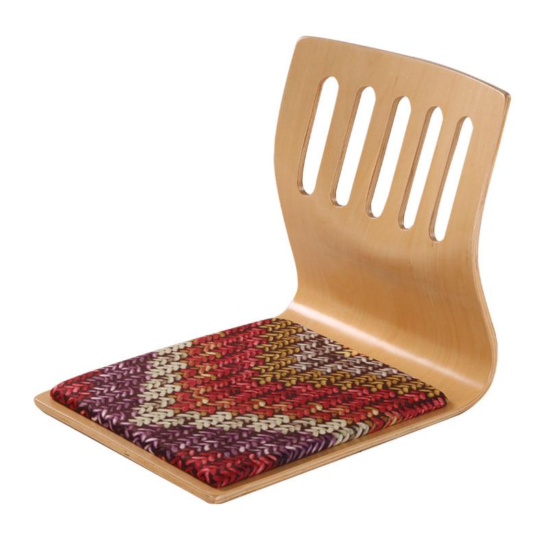 (4pc/lot) Floor Seating Furniture Japan Chair Design Asian Traditional Living Room Japanese Legless Tatami Zaisu Chair Wholesale