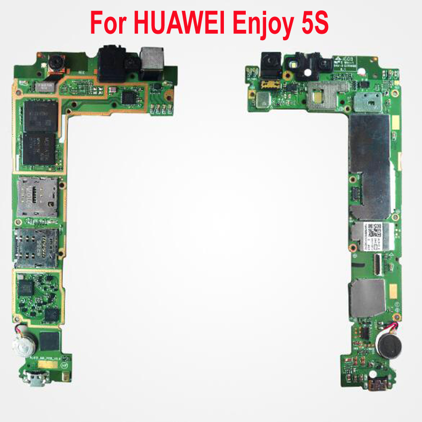 Unlock For HUAWEI Enjoy 5S Card-Fee Chipsets Flex-Cable Phone-Parts Used-Test Original