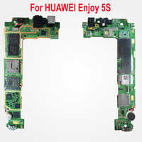 Original Used Test Unlock Working Mainboard For HUAWEI Enjoy 5S Motherboard card fee chipsets flex cable Phone Parts
