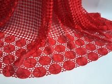 African Cord Lace Fabric For Wedding Party Dress