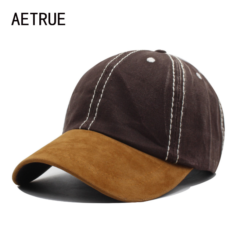 AETRUE Fashion Baseball Cap Men Women Snapback Caps Casquette Bone Hats For Men Solid Casual Plain Flat Washed Blank Cotton Hat aetrue winter hats skullies beanies hat winter beanies for men women wool scarf caps balaclava mask gorras bonnet knitted hat
