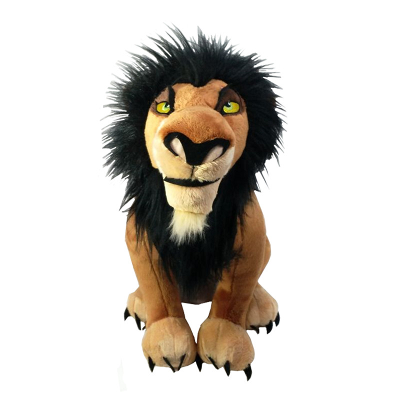 The Lion King Scar Plush Toy Soft Stuffed Animals 34cm