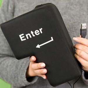 Image 3 - Super duży klawisz powrotu numer duży klawisz Enter dekompresji Vent obsługi klienta programista kreatywny poduszka USB komputera