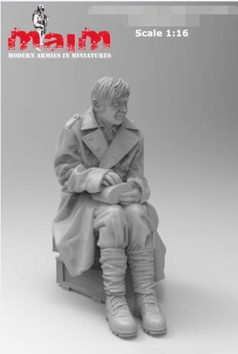1/16  Young Pow     Resin Model Miniature  Figure Unassembly Unpainted