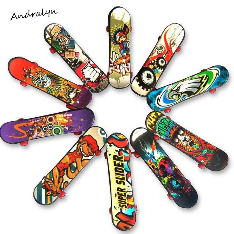 10pcs random Fingerboard Tech Dek 96mm mini Skateboard Original boys toy Plan B Element Blind DGK Zoo YorK Flip Birdhouse ...
