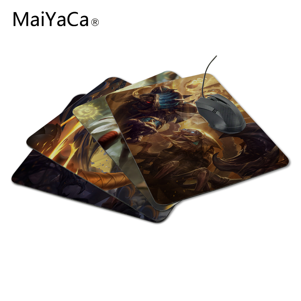 MaiYaCa Hot Sale League of Legends Arclight Design Customized Durable Rectangle Silon Mousepad Size 220mmX180mmx2mm for amer