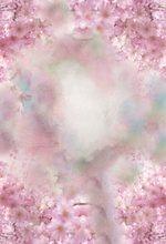 Laeacco bebek yenidoğan pembe bahar çiçeği çiçek suluboya portre desen fotoğraf arka planında fotoğraf arka plan fotoğraf stüdyosu için