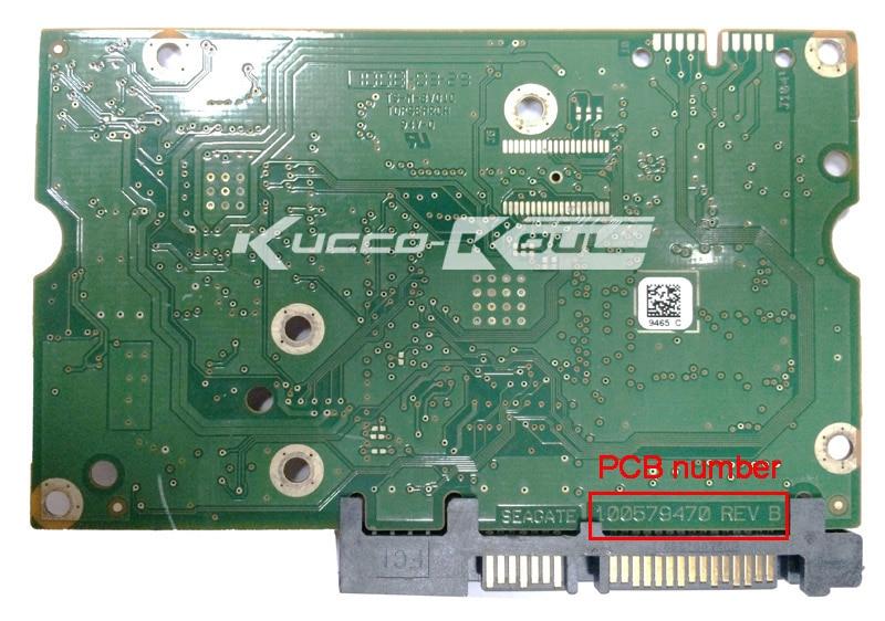 Hard Drive Parts PCB Logic Board Printed Circuit Board 100579470 For Seagate 3.5 SATA Hdd Data Recovery Hard Drive Repair
