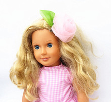 Free shipping hot 2016 new style Popular 18 American girl doll Headdress flower dress 2026